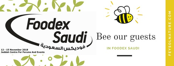 BEE OUR GUEST IN FOODEX SAUDI!